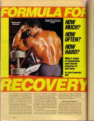 Artikel über Muskelregeneration